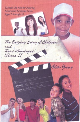 9780615237541: The Everyday Living of Children and Teens Monologues Volume II