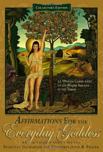 9780615240497: Affirmations for the Everyday Goddess Spiritual Guidebook and 22 Wisdom Cards for Contemplation and Prayer
