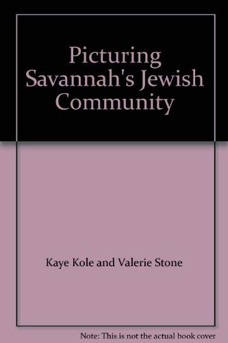 9780615244228: Picturing Savannah's Jewish Community