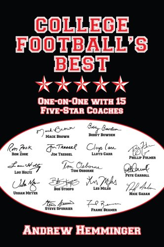 9780615247205: College Football's Best: One-on-One with 15 Five-Star Coaches