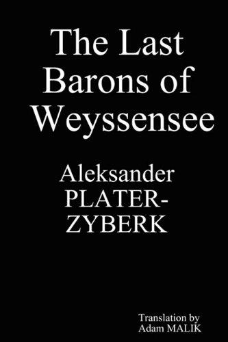 9780615253978: The Last Barons of Weyssensee