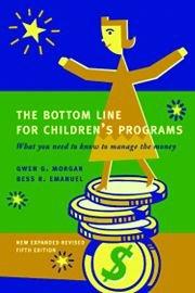 9780615270753: BOTTOM LINE FOR CHILDREN'S PRO