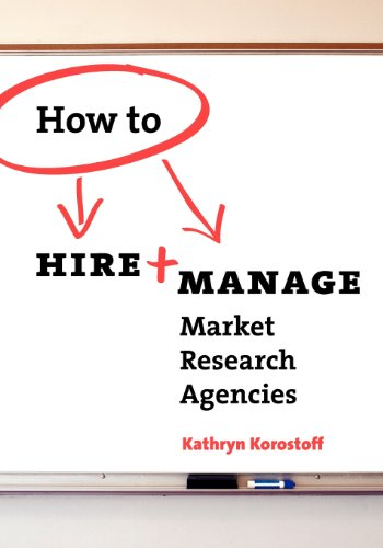 9780615271149: How To Hire & Manage Market Research Agencies