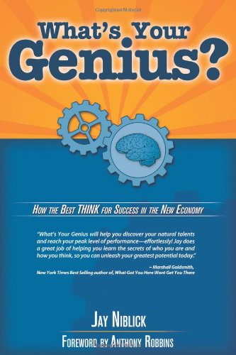 Whats Your Genius 9780615283760 What's Your Genius is a compelling visit into the world of ho you think and make decisions - and how that explains why you succeed almos