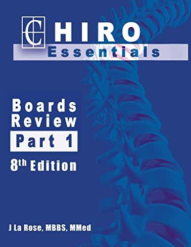 9780615286105: Chiro Essentials