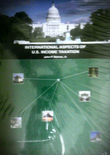 9780615293608: International Aspects of U.S. Income Taxation