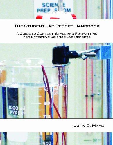 9780615309514: The Student Lab Report Handbook