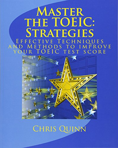 9780615318714: Master the TOEIC: Strategies: Effective Techniques and Methods to improve your TOEIC test score: 1