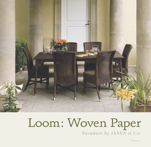 Loom: Woven Paper Furniture by JANUS et: Janice Feldman