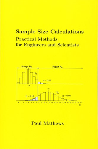Sample Size Calculations: Practical Methods for Engineers and Scientists: Paul Mathews