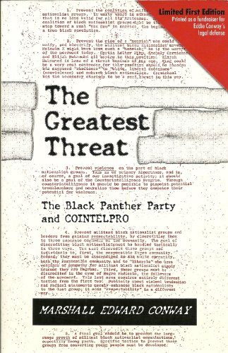 9780615329987: Greatest Threat : The Black Panther Party and the FBI's Counter Intelligence Program
