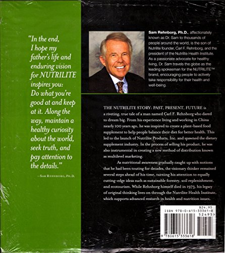 9780615333618: The Nutrilite Story: Past, Present, Future