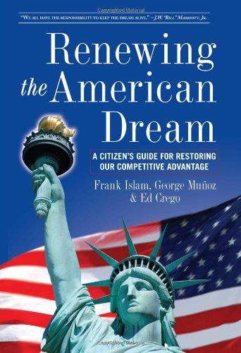 9780615349770: Renewing the American Dream: A Citizens Guide