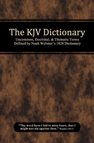 9780615351773: The KJV Dictionary