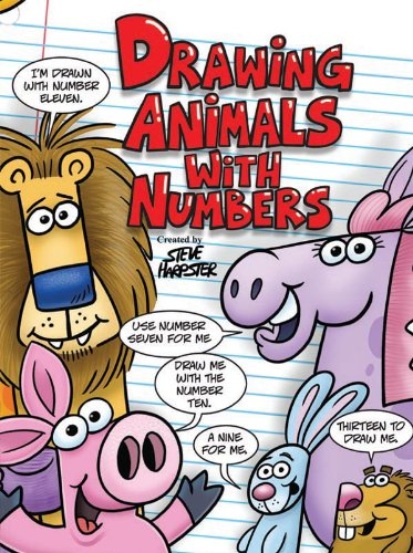 9780615354699: Drawing Animals With Numbers