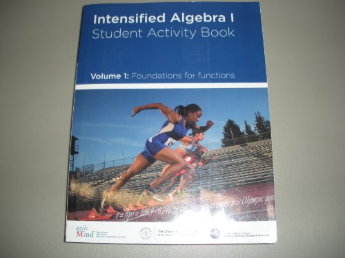 9780615386034: Intensified Algebra 1 Student Activity Book Volume 1 Foundations for Functions