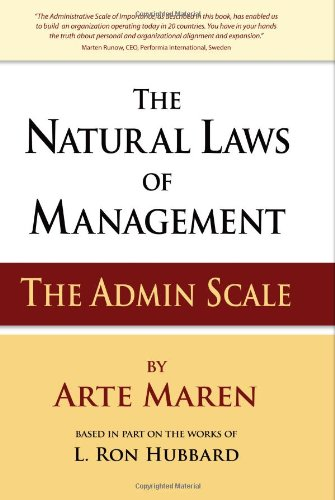 9780615392325: The Natural Laws of Management: The Admin Scale
