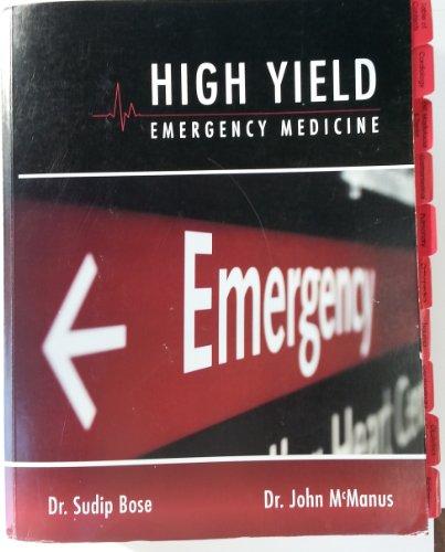 9780615393353: High Yield Emergency Medicine