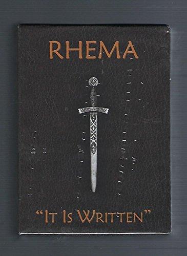 9780615398983: Rhema: It is Written, 17 Booklet Packaged Set