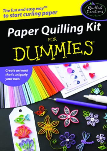 9780615400891: Paper Quilling Kit for Dummies [With Slotted Quilling Tool, Circle Sizer Ruler, Etc.]