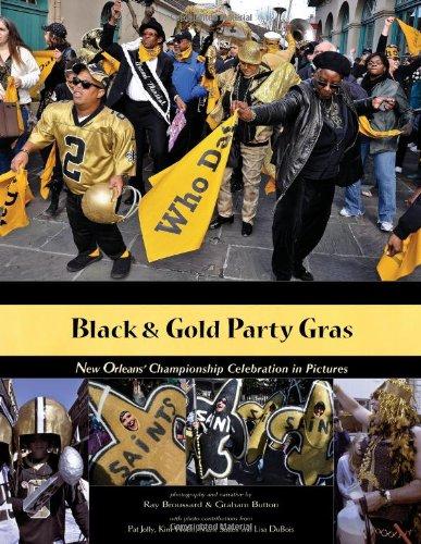 9780615415819: Black & Gold Party Gras