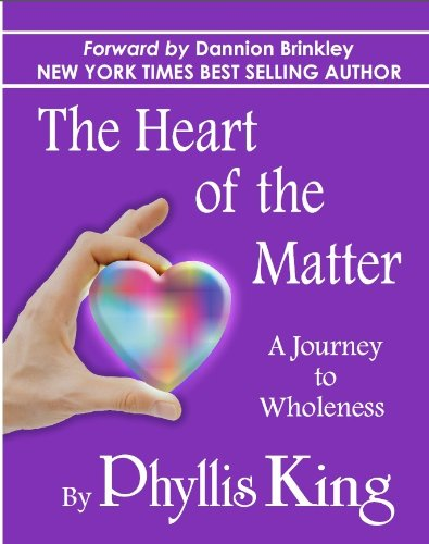 The Heart of the Matter. Life Lessons with the Common Sense Psychic.(Inscribed by author): King, ...