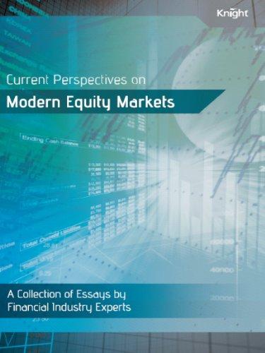Current Perspectives on Modern Equity Markets: James J. Angel,