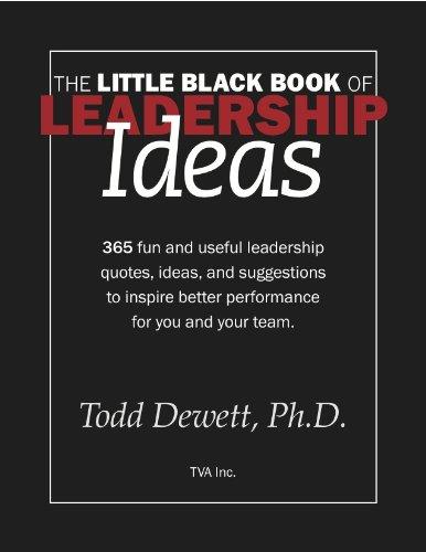 9780615435640: The Little Black Book Of Leadership Ideas