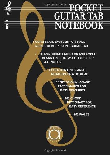9780615450421: Pocket Guitar Tab Notebook