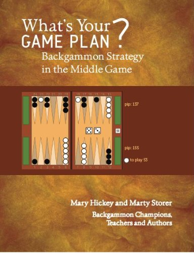 9780615451978: What's Your Game Plan? Backgammon Strategy in the Middle Game