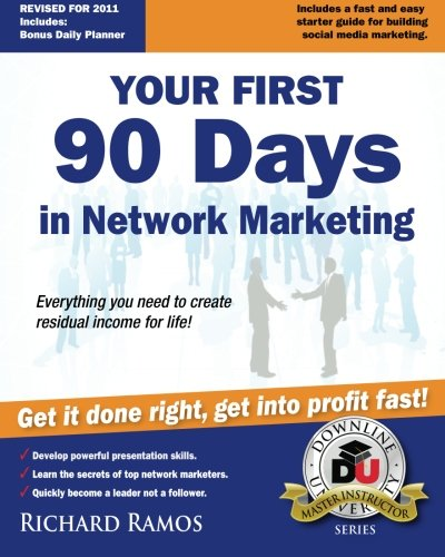 9780615452487: Your First 90 Days in Network Marketing: A Complete Guide To Social Network Marketing