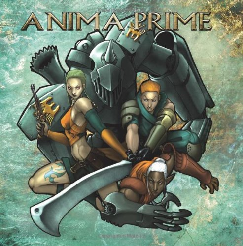 Anima Prime (Role Playing Games (Berengad Games)): Christian Griffen