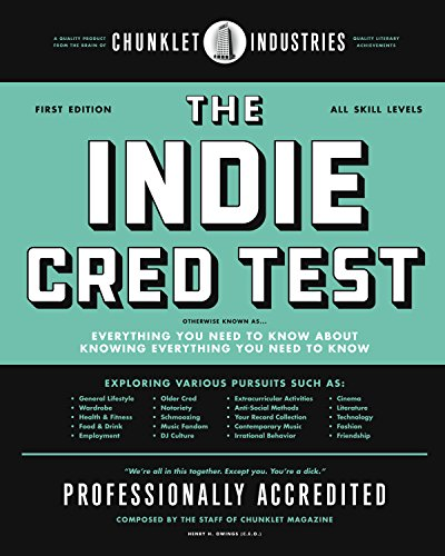 The Indie Cred Test: Guion Bentley