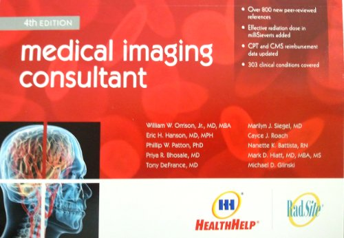 9780615474533: Medical Imaging Consultant, 4th Edition (4th Edition)