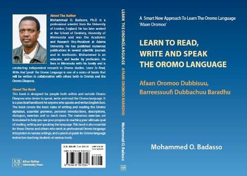 9780615507224: Learn to Read, Write and Speak the Oromo Language (Afaan Oromoo Dubbisuu, Barreessuu! Dubbachuu Baradhu)