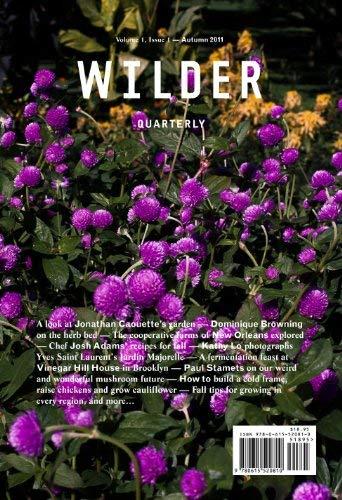 Wilder Quarterly (Autumn 2011, 01)
