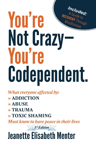 9780615533469: You're Not Crazy - You're Codependent.: What Everyone Affected by Addiction, Abuse, Trauma or Toxic Shaming Must know to have peace in their lives