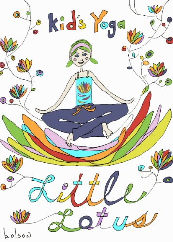 9780615555102: Little Lotus Kids Yoga Cards (Cards)
