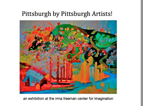 Pittsburgh by Pittsburgh Artists!: Sheila Ali
