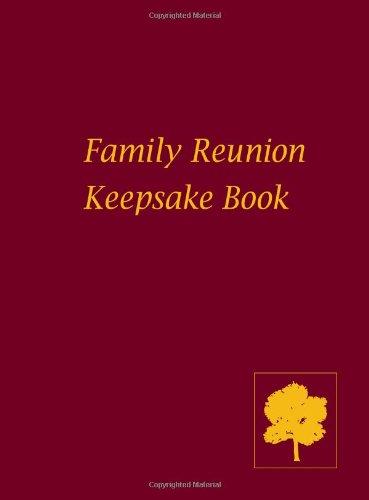 9780615590035: Family Reunion Keepsake Book