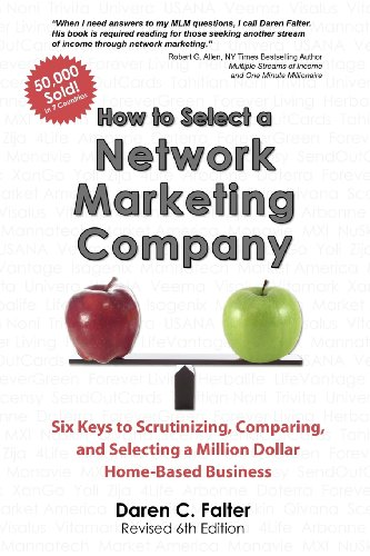9780615605272: How to Select a Network Marketing Company: Six Keys to Scrutinizing, Comparing, and Selecting a Million Dollar Home-Based Business (Volume 6)
