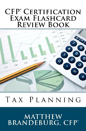 9780615606286: CFP Certification Exam Flashcard Review Book: Tax Planning