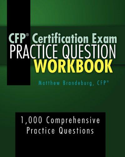 9780615609386: CFP Certification Exam Practice Question Workbook: 1,000 Comprehensive Practice Questions (2nd Edition)
