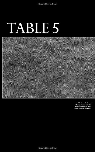 9780615627878: Table 5 (Volume 1)