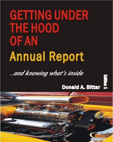 9780615629827: Getting Under the Hood of an Annual Report - CD