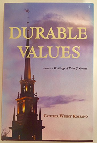 9780615632131: Durable Values: Selected Writings of Peter J. Gomes