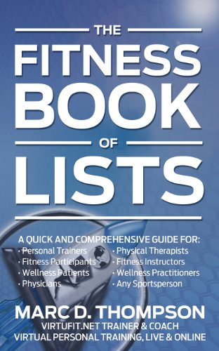 Fitness Book of Lists: A Quick and: Marc D Thompson