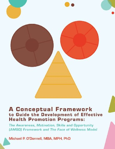 9780615723488: A Conceptual Framework to Guide the Development of Effective Health Promotion Programs: The Awareness, Motivation, Skills and Opportunity (AMSO) Framework and The Face of Wellness Model