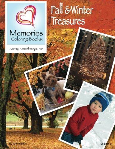 9780615738956: Fall & Winter Treasures (Memories Coloring Books, Volume 2)
