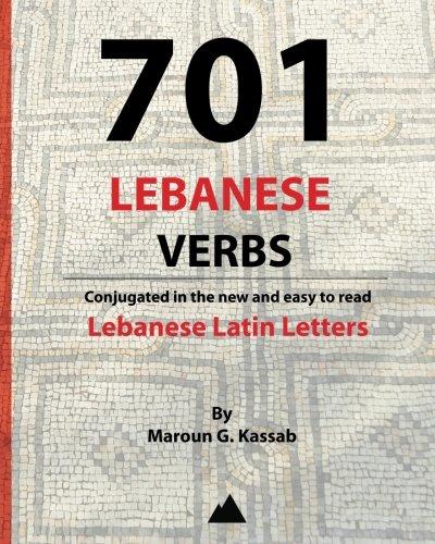 9780615751245: 701 Lebanese Verbs